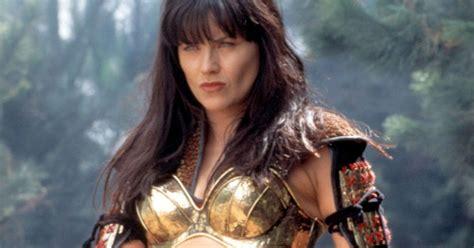 zena the warrior princess hairstyles xena warrior princess actress lucy lawless looks