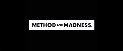 Methods And Madness brand new new logo and packaging for method and madness