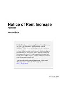 sample of tenant letter of notice fill online printable