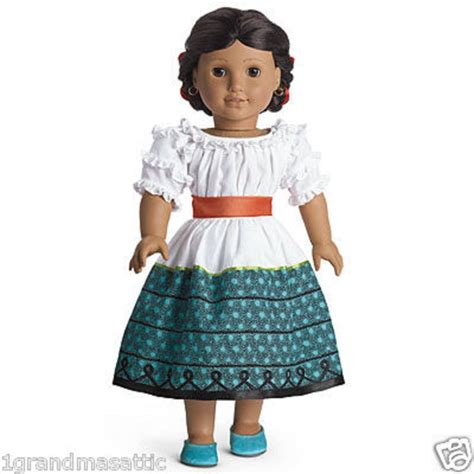 Where Can I Buy American Girl Gift Cards - american girl josefina s feast outfit nib nrfb shoes ribbons doll not included ebay