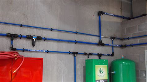 Compressed Air Plumbing by Allmach Piping Systems