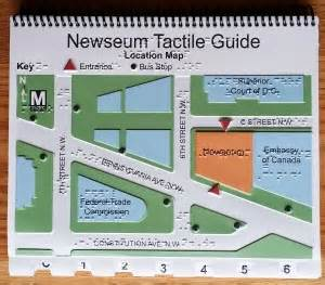 newseum floor plan new tactile museum guide touch graphics inc