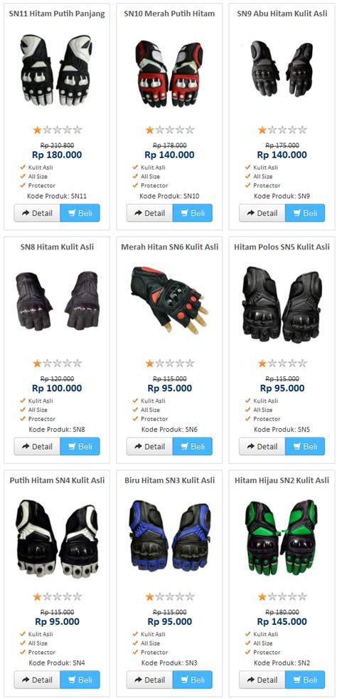 Sarung Tangan Kulit Untuk Motor pengrajin sarung tangan motor kulit