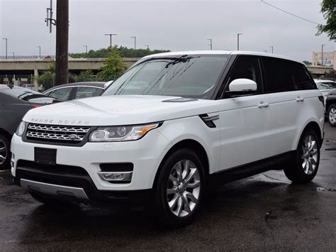 land rover 2014 used 2014 land rover range rover sport hse at saugus auto mall