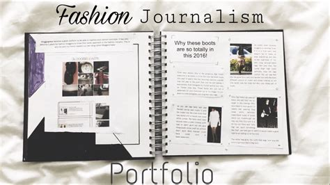 Journalism Portfolio by Exle Of A Fashion Journalism Portfolio