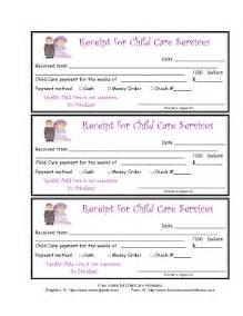 Child Care Tax Receipt Template Receipt Template For Daycare Sandle Pictures To Pin On