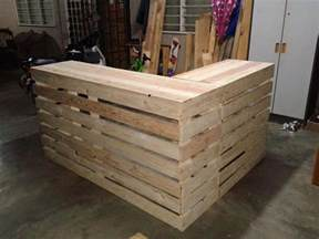 Kitchen Island Diy Ideas best 25 pallet counter ideas on pinterest pallet bar