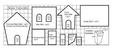 Free Gingerbread House Template » Home Design 2017