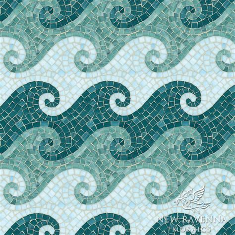 Glass Backsplash Tile For Kitchen Tethys Jewel Glass Mosaic Tile Other Metro By New