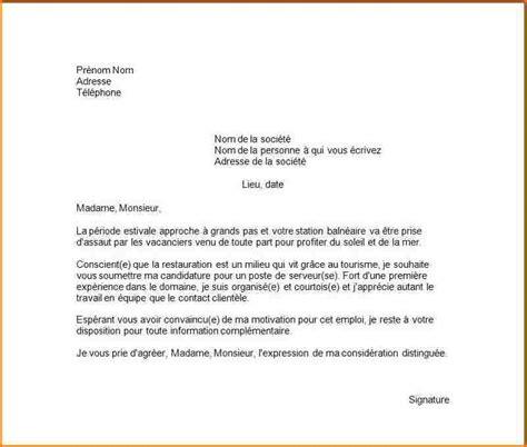 Lettre De Motivation De Fleuriste 5 lettre motivation 233 t 233 curriculum vitae etudiant