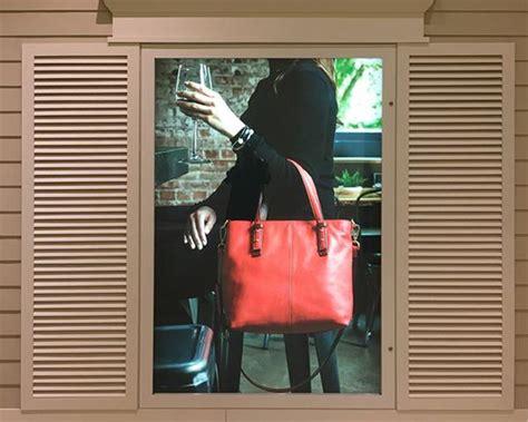 faux window light box custom led light box installation for seattle s iconic
