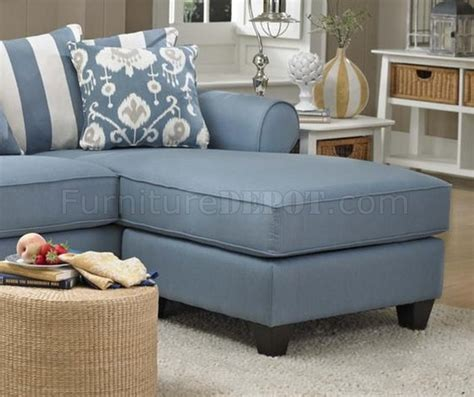 light blue sectional with chaise 347710 sofa chaise in light blue fabric by chelsea