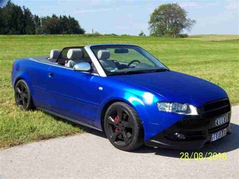 Audi A4 Chiptuning by Audi A4 Cabrio 2 0l Tfsi Chiptuning Tolle Angebote In