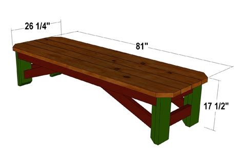 store benches plans to build country store bench plans pdf plans
