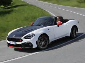 Fiat 128 Spider 2017 Fiat 124 Spider Launched In Europe Abarth Priced At
