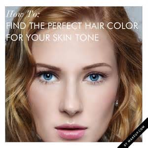 hair color for skin tone how to find the hair color for your skin tone