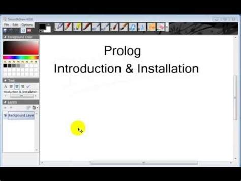 prolog applications of prolog youtube prolog tutorial 1 introduction installation youtube