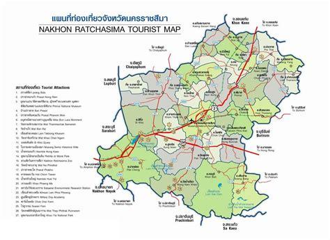 korat thailand korat weekends korat map