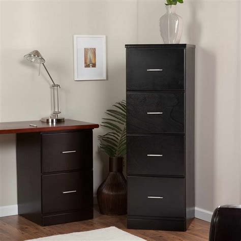 black wood file cabinet decorative filing cabinets for both style and function
