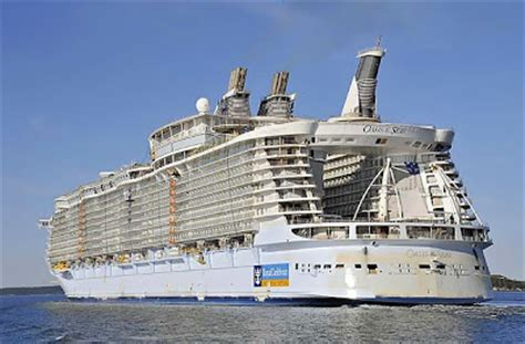 largest cruise ship being built fun to be bad the biggest cruise ship ever built