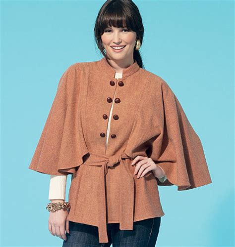 Pattern Jacket Sml 21663 mccall s misses capelets vest and belt 7291 pattern review by cmminabq