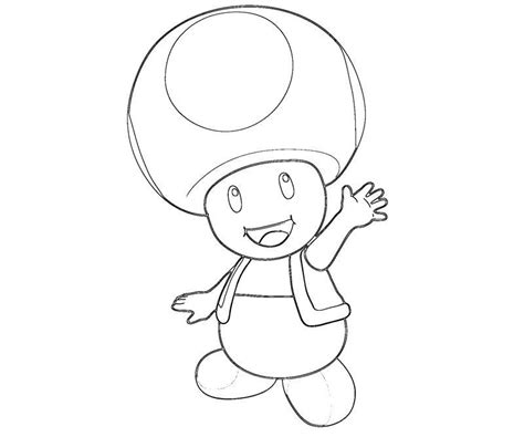 Toad Mario Coloring Pages Coloring Pages Toad Mario Coloring Pages