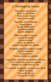 poems on thanksgiving happy thanksgiving sunny days in second grade