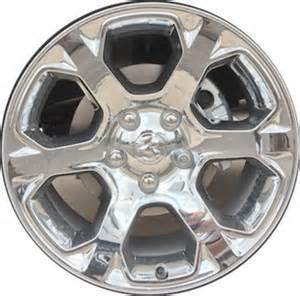 Dodge Truck Chrome Wheels Aly2454 Dodge Ram 1500 Wheel Chrome Clad 1ub19sz0aa