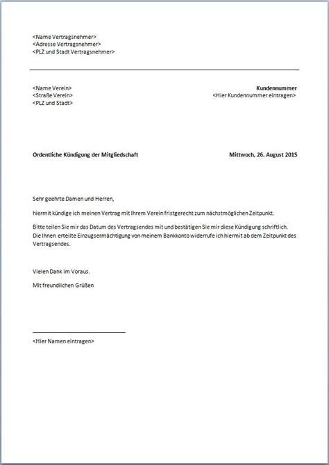 Abmeldung Schreiben Muster Schule Abmeldung Fu 223 Ballverein Vorlage Word K 252 Ndigung Vorlage Fwptc