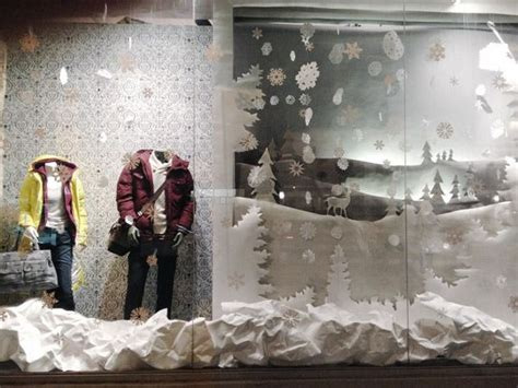 winter store window store design pinterest trees