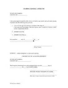 General Affidavit Template by Free Affidavit Form Sle Pdf Word Affidavit Form