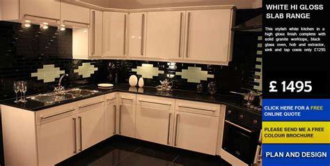 cheap kitchen cabinets uk white hi gloss slab affordable cheap kitchens