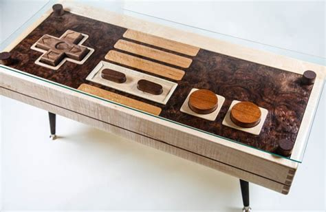 nes coffee table the nes controller coffee table