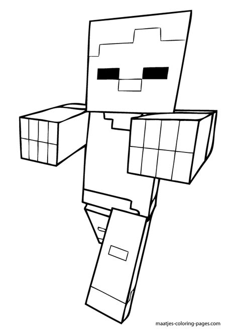 minecraft blocks coloring pages coloring pages