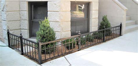 small fence wrought iron small garden fence smw