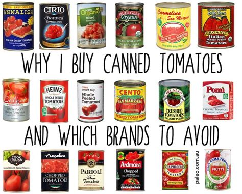 Brands To Buy by Why I Buy Canned Tomatoes And Which Brands To Avoid