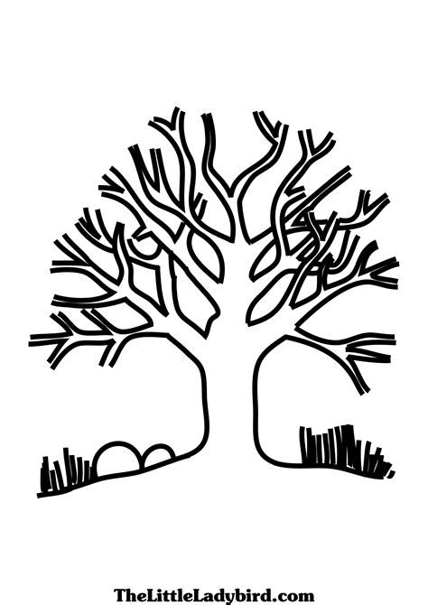 coloring pages of winter trees winter tree coloring page www imgkid com the image kid