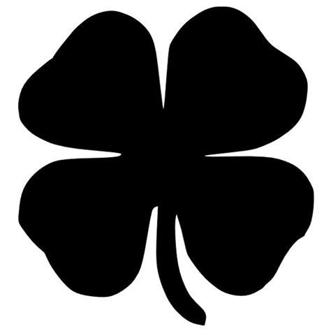 Stiker Anime Black Clover four leaf clover iron on decal decal design shop