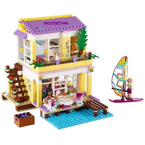 lego doll house lego friends stephanie s beach house kate dollhouse doll girl leggo leggos legos other