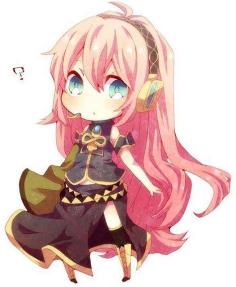 imagenes kawaii anime vocaloid cute luka chibi by sami akiyuki 4425514 i ntere st