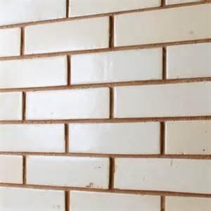 White Mosaic Tiles Bathroom - white glazed brick tiles reclaimed brick tile