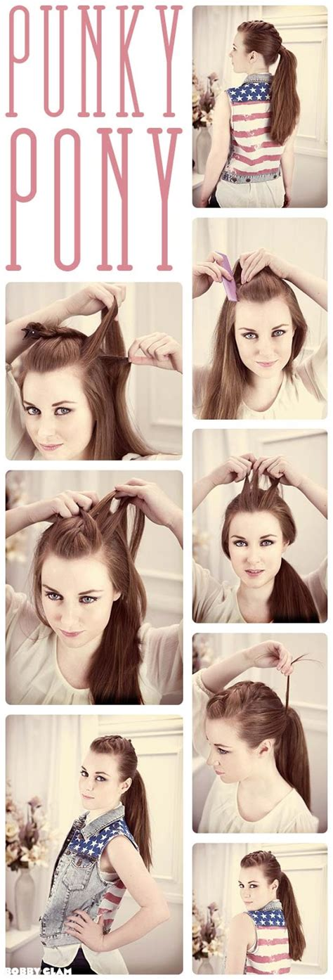 Hairstyles Tutorial by 25 Ponytail Tutorials Artzycreations