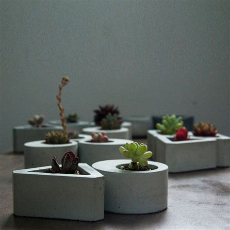 aliexpress buy column cement flower pots planters