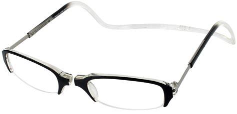 macy s reading glasses clic semi rimless magnetic reading glasses