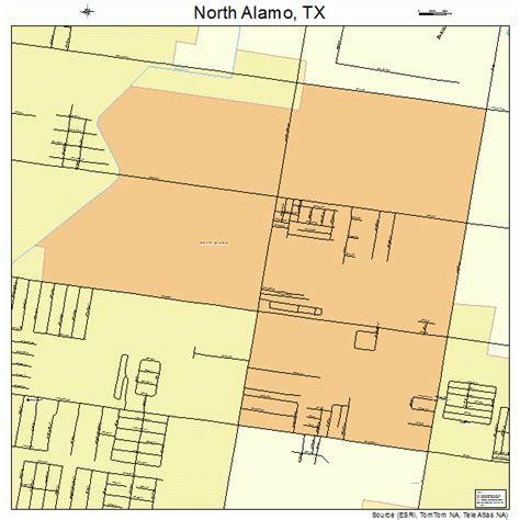 map of alamo texas alamo texas map 4851900