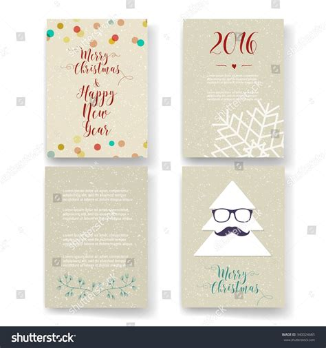 card template sets card templates posters set stock