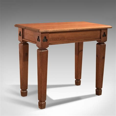 alter table modify antique pitch pine side table alter table c