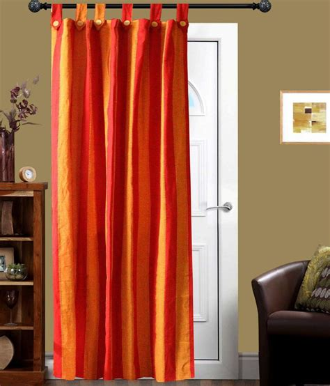 red and orange curtains newladieszone red and orange stripes door curtain buy