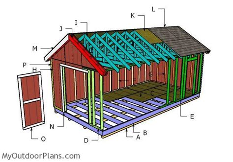 gable shed roof plans myoutdoorplans  woodworking plans  projects diy shed