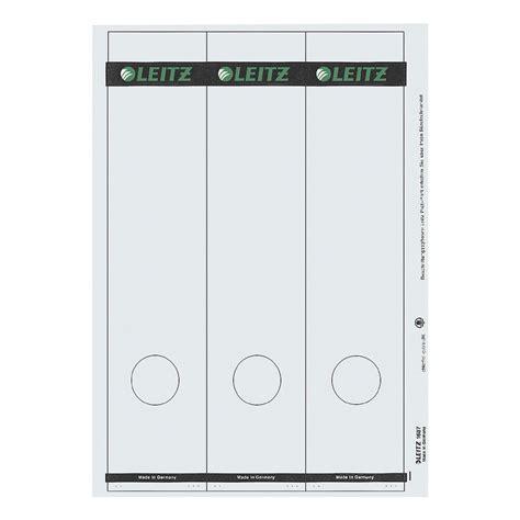 Etiketten Drucken Leitz Ordner by Leitz Selbstklebende Ordnerr 252 Cken Etiketten 187 1687 171 Bei